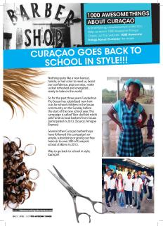 #674. Curaçao Goes Back to School in Style!!! featured in Go Weekly magazine.