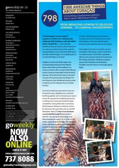 ATAC #798. 'From LionFish to LionDish' featured in GO Weekly's 4th edition of 2013.