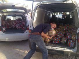 Infotrans donated over 400 balls!