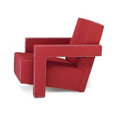 Rietveld Utrecht Sofa and Armchair.