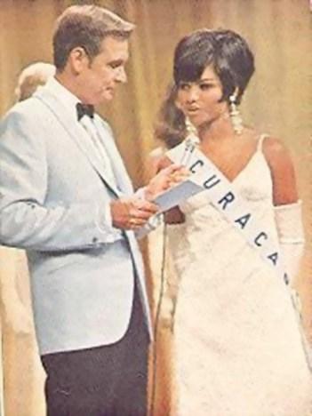 Miss Curacao 1968 and Miss Universe 1968 first runner up, Annemarie Braafheid.