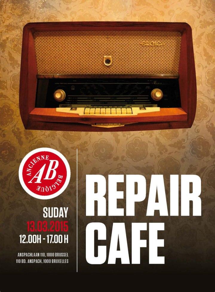 repair café bruxelles ancienne belgique
