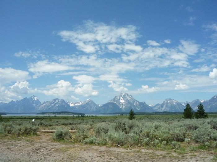 Ouest américain Grand Teton National Park