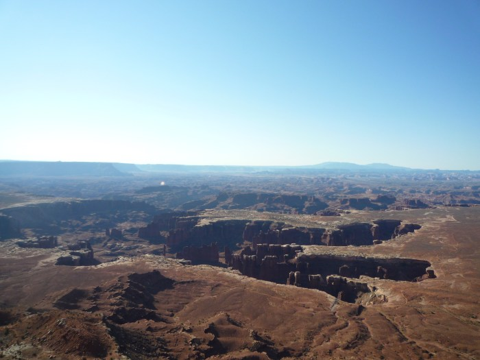 Ouest américain Canyonlands National Park