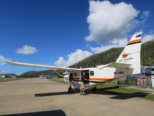 Whitsunday GSL plane