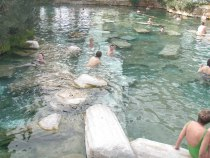 Pamukkle hot springs