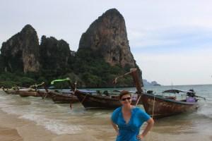 woman beach thailand