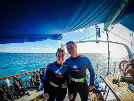 Diving on the Great Barrier Reef