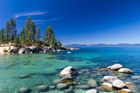 The colors of Lake Tahoe