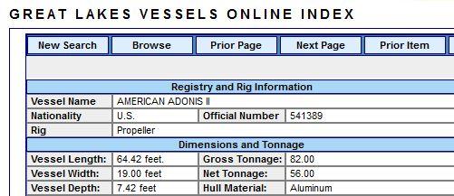 1000 Islands Tour Boat - American Adonis II