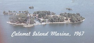 1000 Islands Calumet Island Marina 1967