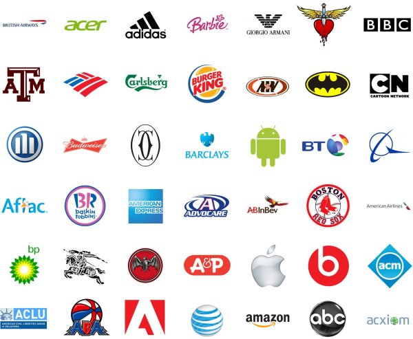1000 Logos - Famous Brands And Company In World