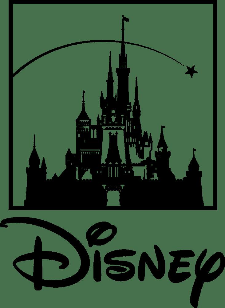 Disney Logo Black And White