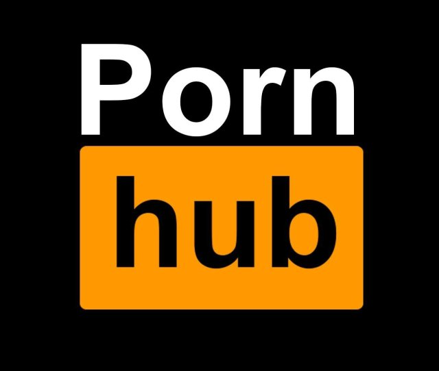 The Current Pornhub Logo Features The Word Pornhub Inside A Black Rectangular Box The First Four Letters Are Given In White While The Black Lettering