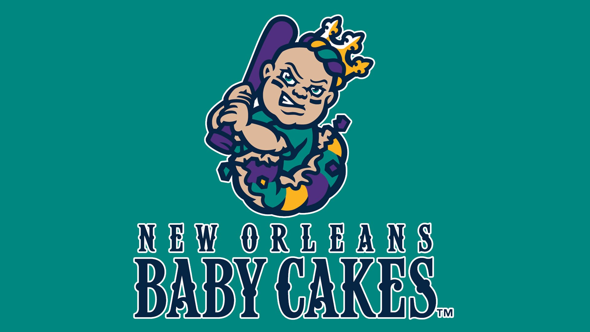 New Orleans Baby Cakes Logo, New Orleans Baby Cakes Symbol