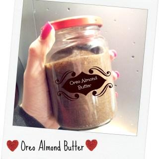 Oreo Almond Butter