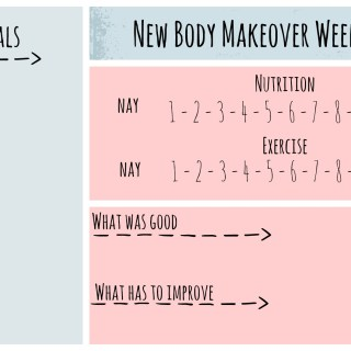 New Body Makeover Challenge – Week 6 and I start over