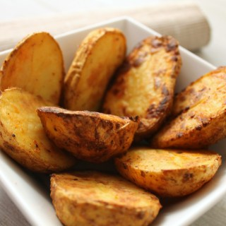 Crispy and Spicy Baked Potatoes