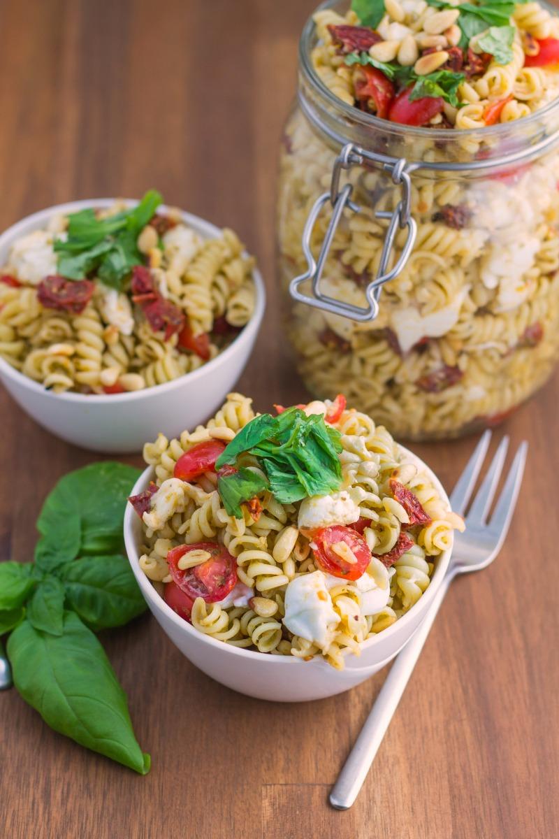 Pesto Pasta Salad-2