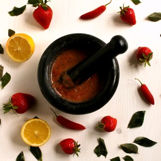 Hot and Spicy Strawberry Marinade