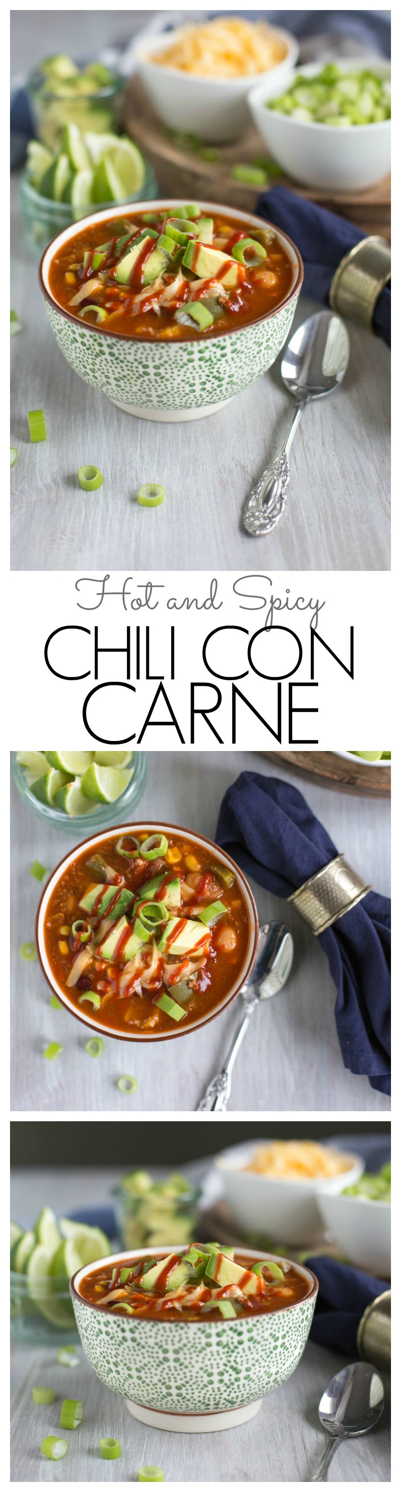 Hot and Spicy Chili con Carne
