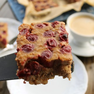 Brown Rice and Cherry Breakfast Bake