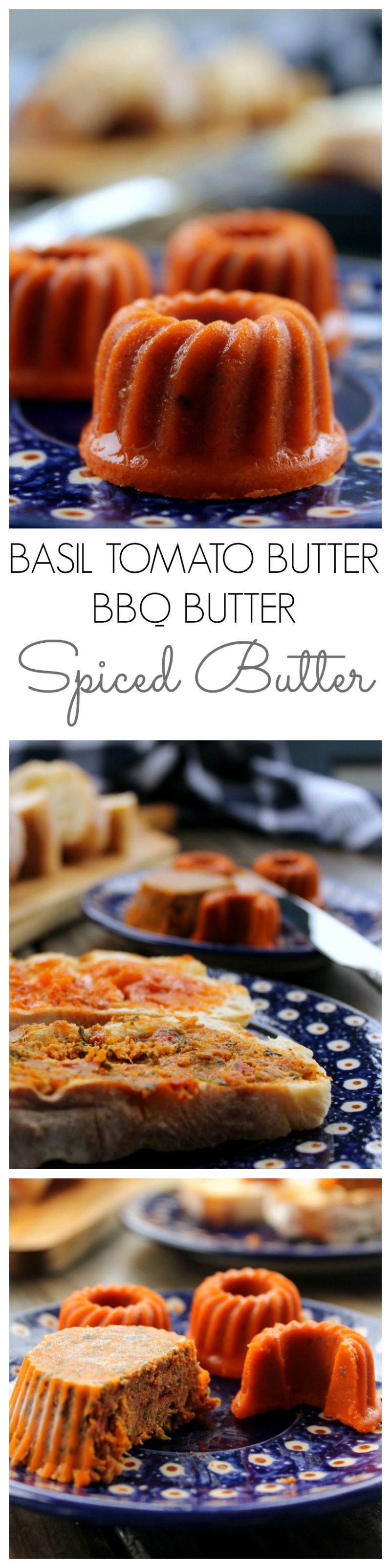 Two spiced butter recipes that can be whipped up in 5 min and bring every sandwich, veggie or piece of meat to the next level! Spicy and delicious!