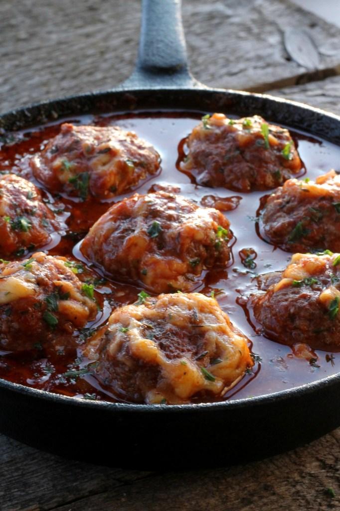 parmesan_marinara_meatballs_skillet