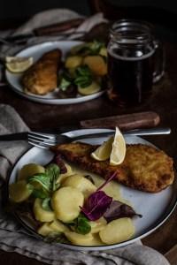 Easy Bavarian Potato Salad Recipe - Low-Fat, Vegan, No Mayonnaise!