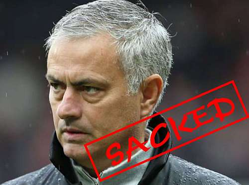 Official: Jose Mourinho Has Been Sacked By Tottenham