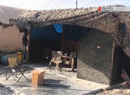 シリアのマンビジ近くに放棄された米軍基地の内部を戦場カメラマンが撮影。