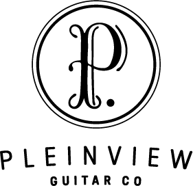 Pleinview Guitar Co. logo