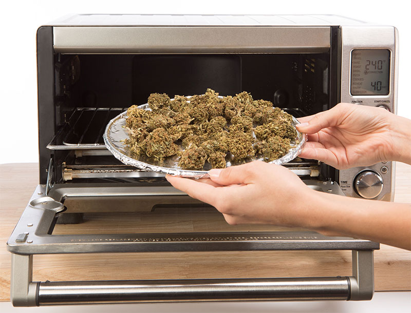 Cannabis-decarboxilieren