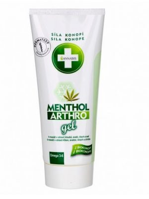 Menthol Arthro Gel, kühlendes Massagegel