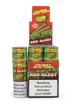 Hemp-cones-Red-Alert