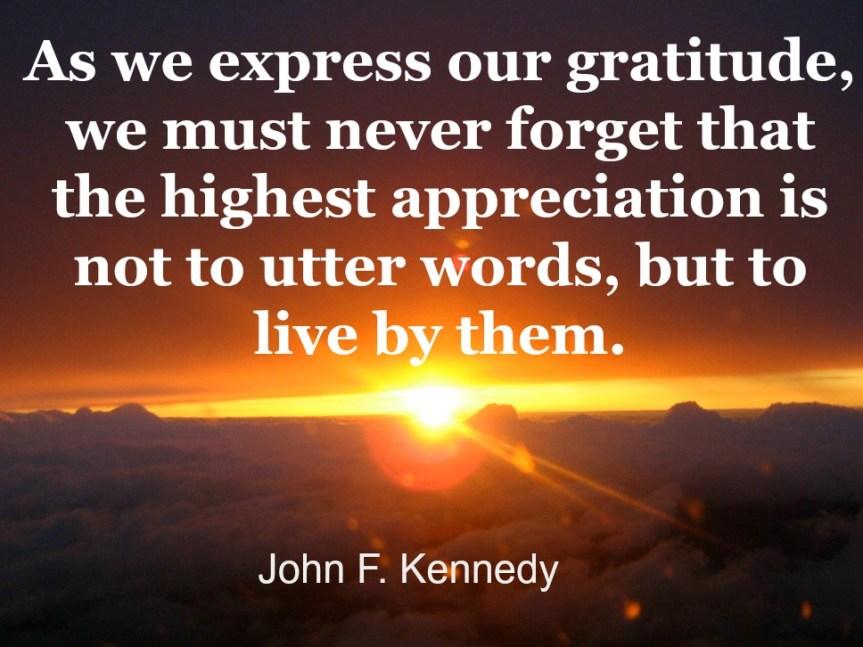 The Wisdom of Gratitude  1000Speak  1000Speak for