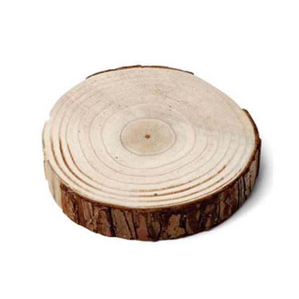 Déco De Table Rondin De Bois D23cm26cm  1001 Déco Table