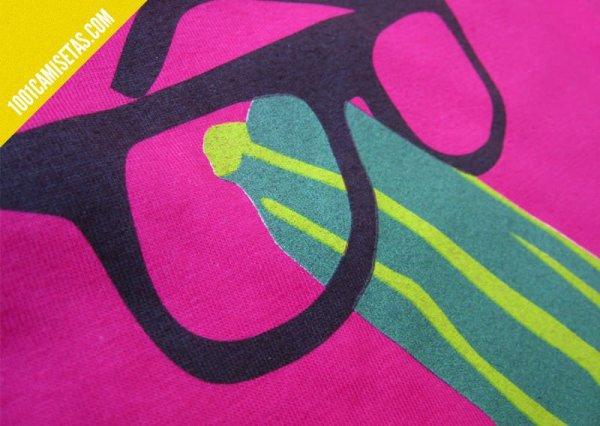 Camiseta palillo de mariano calabacín