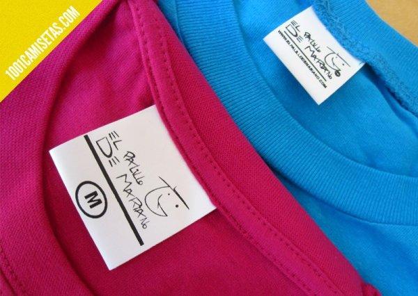 Camisetas palillo mariano etiqueta