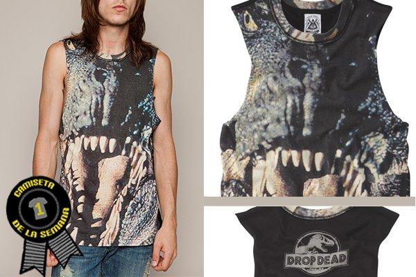 Camiseta de la semana Drop dead Rex