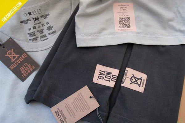 Camisetas Indisorder etiquetas