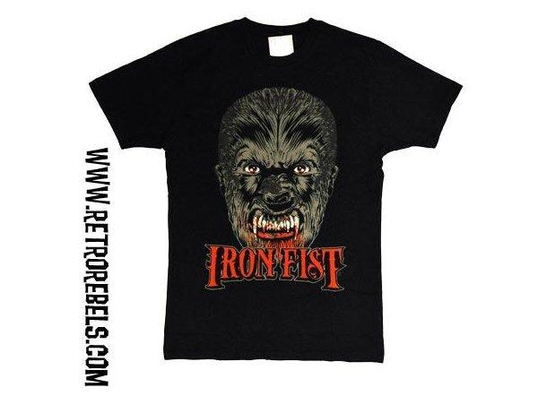 Camiseta iron fist hombre lobo