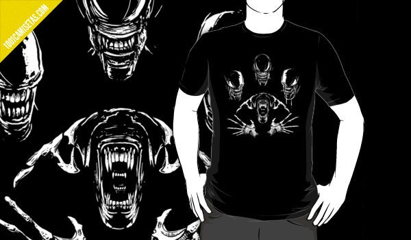 Camiseta Alien Queen