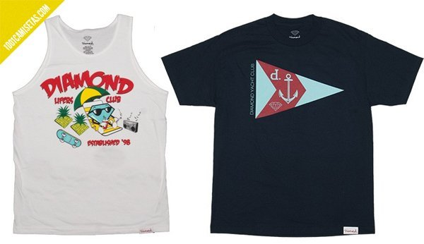 Camisetas vintage Diamond