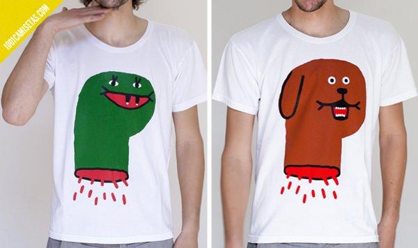 Camisetas cabezas Antonio Ladrillo