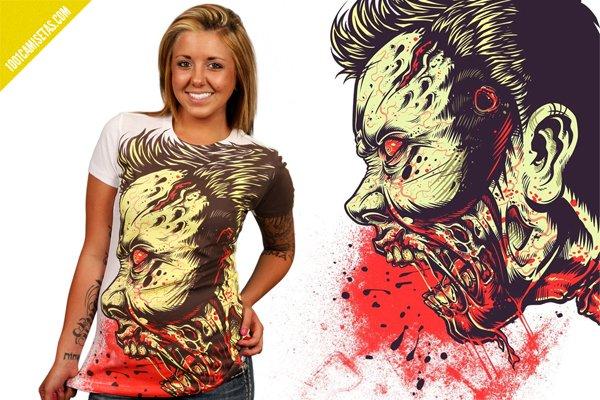Camiseta zombie designbyhumans