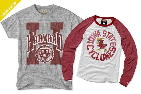 Camisetas Harvard