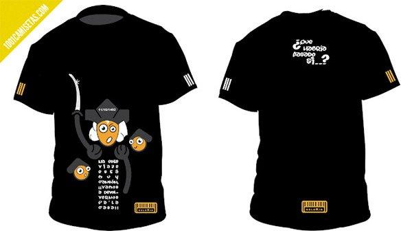 Camisetas que pasaría si