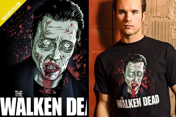 Camisetas divertidas walking dead