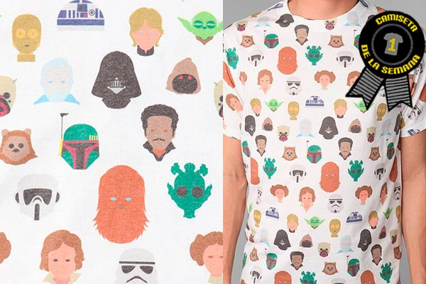 Camiseta Star wars urban outfitters